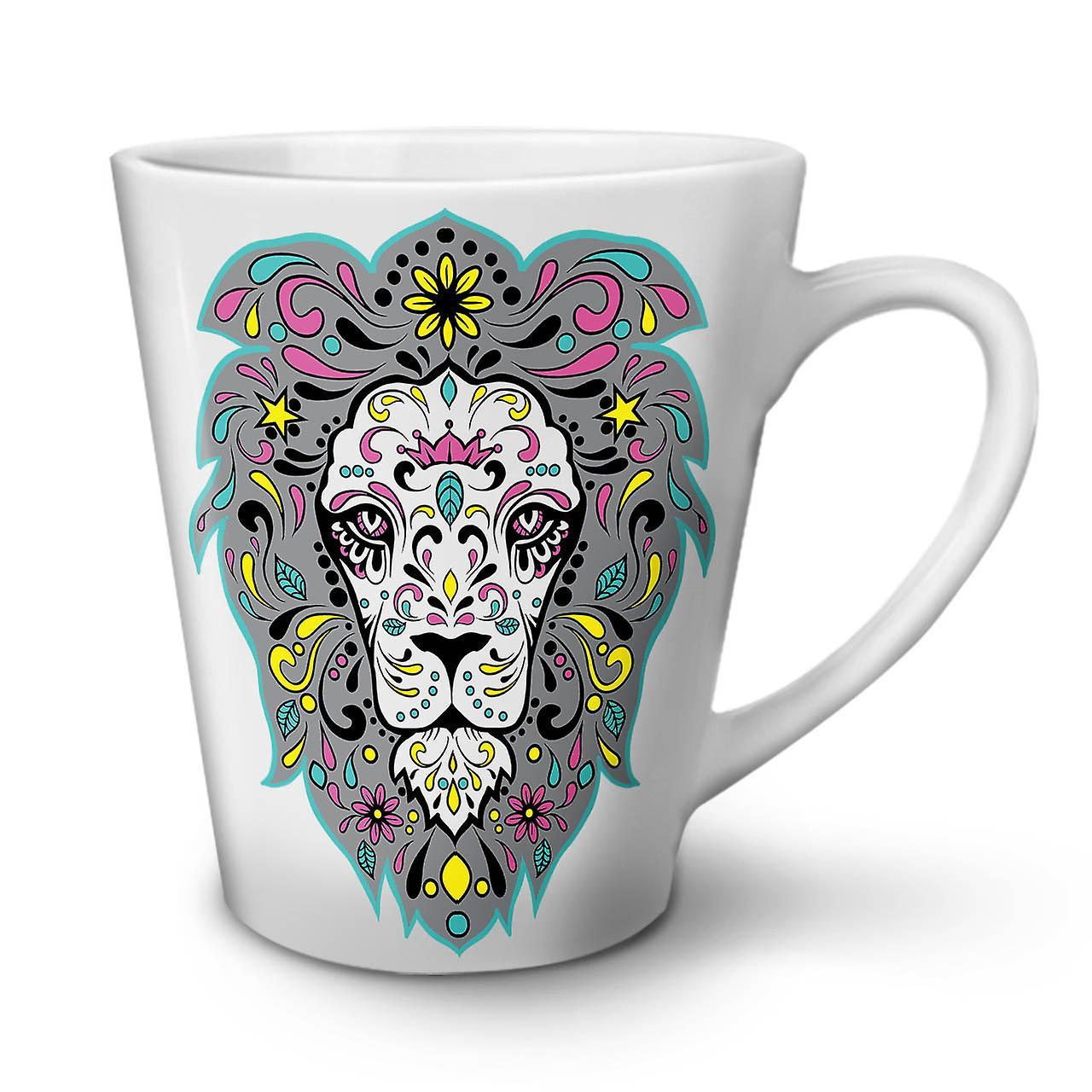 En Céramique Mug OzWellcoda Roi Lion Latte Blanc 12 Thé Café Nouveau Jungle tCBQhrsdx