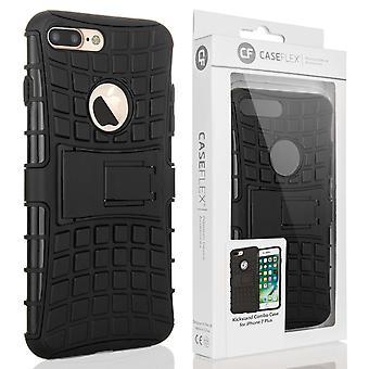 Caseflex Iphone 7 Plus støtteben Combo sag - sort
