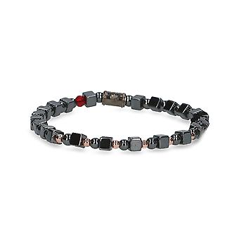Beamay men's 1775LEADERGRIG grey other material bracelet