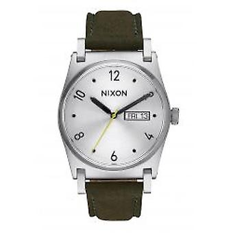 Nixon The Jane Leather Silver Surplus (A9552232)