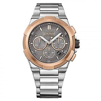 Hugo Boss 1513362 Rose Gold And Stainless Steel Chronograph Supernova Men's Watch
