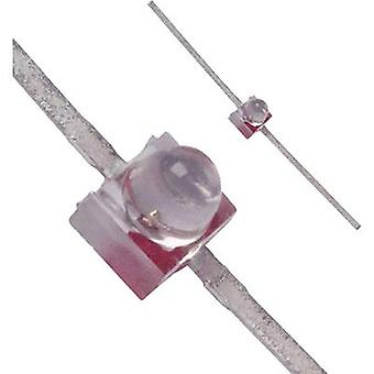 LED wired Red Circular 1.9 mm 40 mcd 28