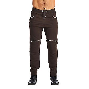 Indigo people Basic 4 zipper Jogger