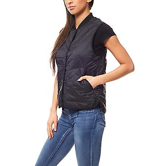 Giacca Lee gilet reversibile giacca donna nera