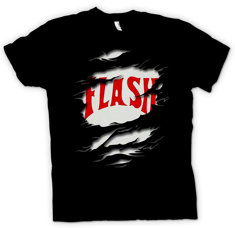 Womens T-shirt - Flash Gordon - rippade effekt