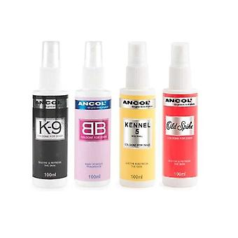 Ancol 3 Pack Dog Cologne Baby Powder / k9 / Kennel No 5 Sooth & Refresh.