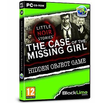 Wenig Noir Geschichten den Fall des verschwundenen Mädchens (PC-CD)