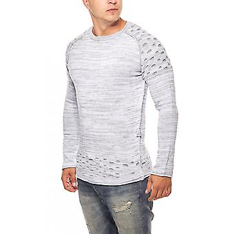 CARISMA knitted sweater men's sweater grey