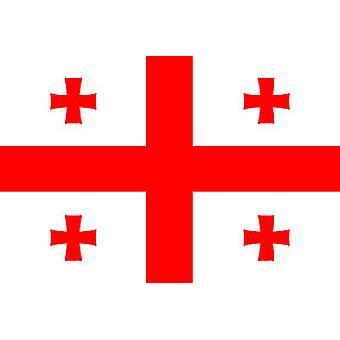 Georgia Flagge 5 x 3 ft mit Ösen für hängende