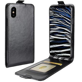Flip Custodia nera per Apple iPhone X (10) manica Custodia cover protezione Accessori sacchetto nuovo