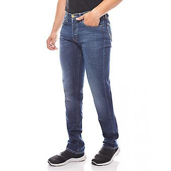 Washed jeans men's Lee Daren Blau