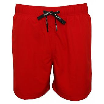 Tommy Hilfiger Classic Swim Shorts, Tango Red