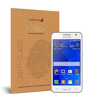 Celicious Matte Anti-Glare Screen Protector for Samsung Galaxy Core 2 [Pack of 2]
