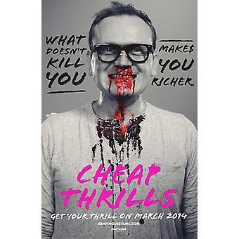 Cheap Thrills Movie Poster (11 x 17)