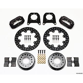 Wilwood 140-4545-BD Rear Drag Kit for 12 Bolt Chevy with C-Clip Eliminator