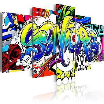 Canvas Print - jeugd wereld