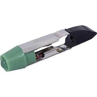 CML LED bulb T5.5 Green 24 Vdc, 24 V AC 2100 mcd