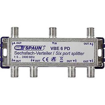 SAT splitter Spaun VBE 6 PD 6-way