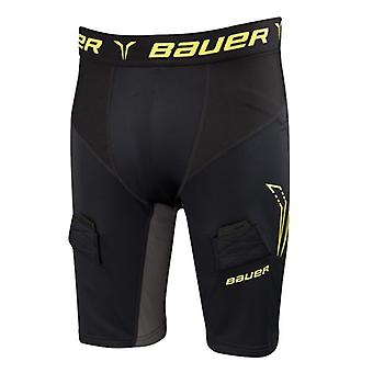 Shorts with deep protection Bauer premium compression senior