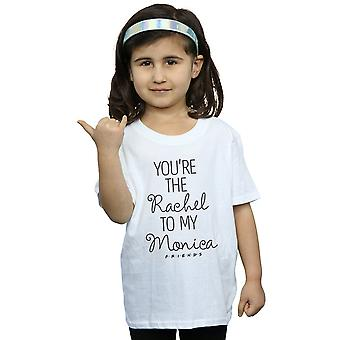 Friends Girls You're The Rachel To My Monica T-Shirt