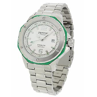 ZOPPINI Stainless Steel Green Watch