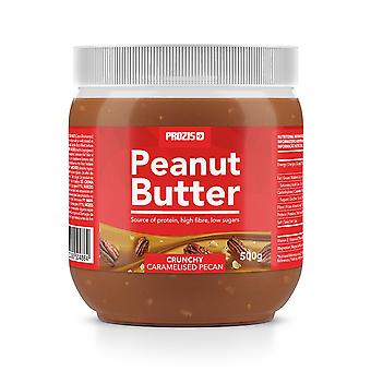 PROZIS - Caramelised Pecan Peanut Butter 500 g - nutritious snack
