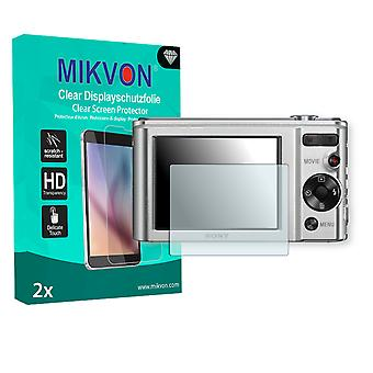 Sony DSC-W800 Screen Protector - Mikvon Clear (Retail Package with accessories)