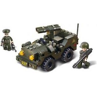 Sluban B5800 Jeep con doppio-fucile