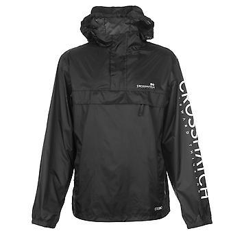 Crosshatch Mens Rufaro Jacket Nylon Coat Top Waterproof Breathable Lightweight