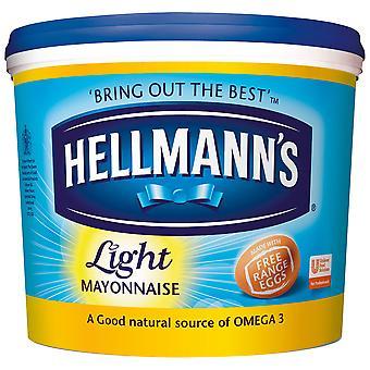 Licht Hellmanns Mayonnaise Wanne