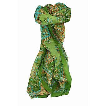 Amoreira cachecol longo tradicional Kali Sage por Pashmina & seda
