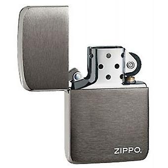 ZIPPO 1941 REPLICA LOGO BLACK ICE LIGHTER