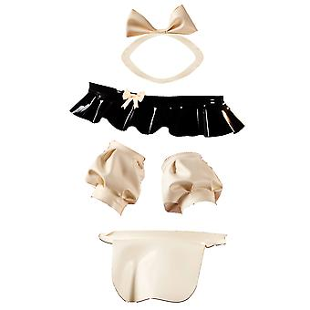 Latex Rubber Parisian Maid Accessory Set - Dress Not Included