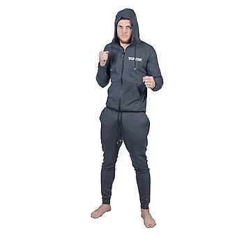 Topp tio Hooded träningsoverall grå