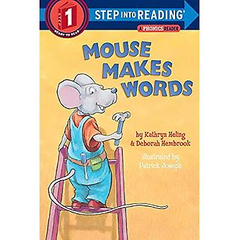 Mouse Makes Words: Phonics (Step Into Reading: A Step 1 Book (Paperback))