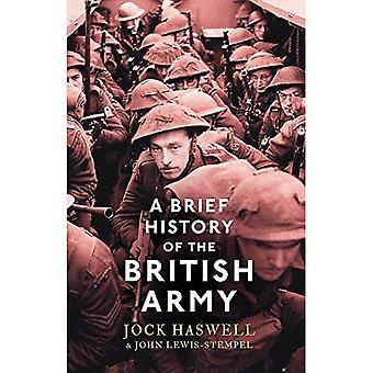 Un bref historique de l'armée britannique (histoire courte)
