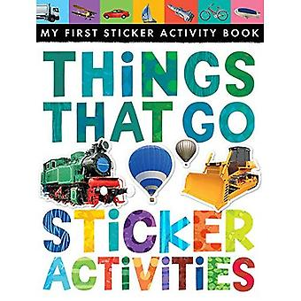Things That Go Sticker Activities (My First Sticker Activity Book)