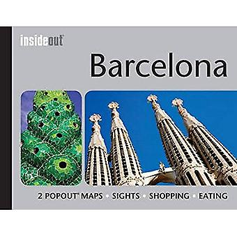 Barcelona InsideOut Map & Travel Guide: Handy pocket-size Barcelona city guide with 2 Pop up maps