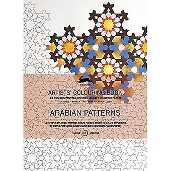 Arabian Patterns: Artists' Colouring Book (Artists' Colouring Books)