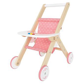 Jeu d'imitation enfant jeux jouets Poussette pour poupée 0102117
