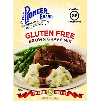 Marca Pioneer Gluten gratis salsa marrón mezcla