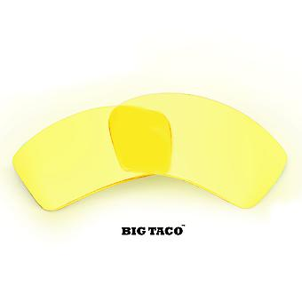 BIG TACO Replacement Lenses Polarized Hi Intensity Yellow by SEEK fits OAKLEY