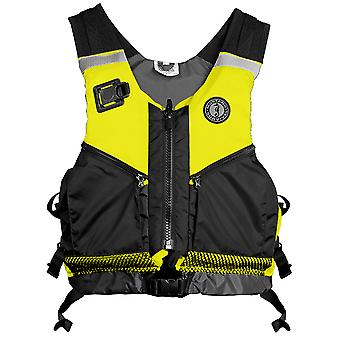 Mustang Operations Support Water Rescue Vest - XS/S - Fluorscent Yellow-Green/Black