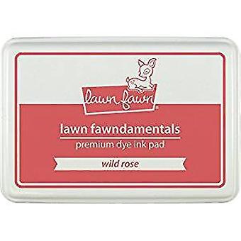 Lawn Fawn Fawndamentals Premium Dye Ink Pad Wild Rose (LF860)