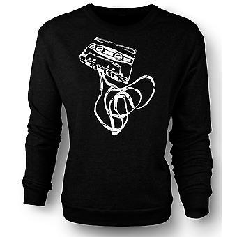 Womens Sweatshirt Old Skool Tape