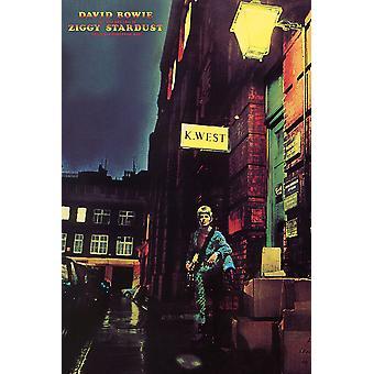 Poster - Studio B - David Bowie - Ziggy Stardust 36x24