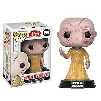 Star Wars Supreme Leader Snoke Episode VIII Last Jedi Pop