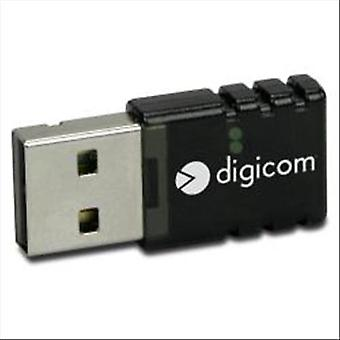 Digicom 8e4443 2.0 usb network adapter compatible with access point 802.11 b/g