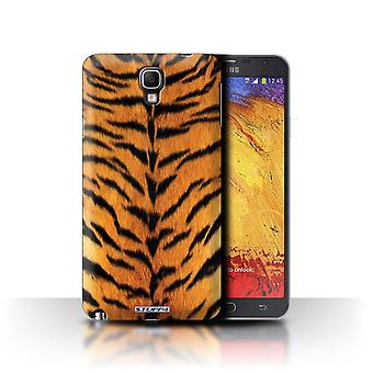 STUFF4 Case/Cover voor de Samsung Galaxy Note 3 Neo/tijger/dier bont patroon