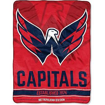 Northwest NHL Washington Capitals Mikro Plüschdecke 150x115c